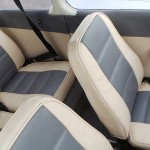 Four comfortable leather seats